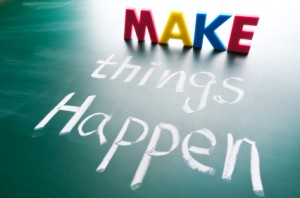 Make things happen: Contact Barbara today